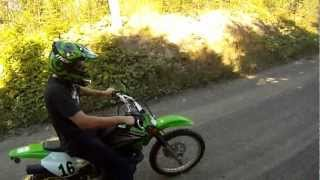 4. TTR125 Vs KLX125 - GoPro HD