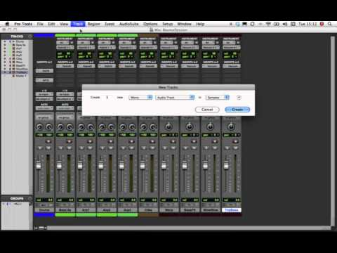 Exporting tracks from Pro Tools