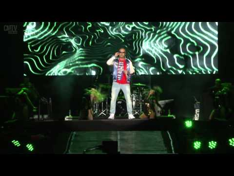 Wisin video Mirala bien - Estadio Geba 2015