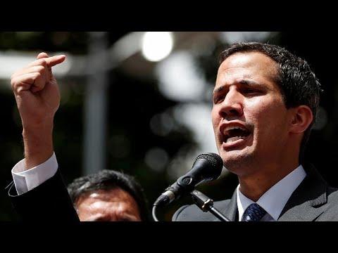 Venezuela: Interimspräsident Guaidó wendet sich an di ...
