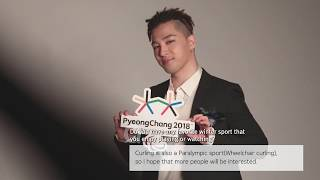 (ENG) Happy to announce a new Honorary Ambassador for PyeongChang 2018, TAEYANG!
