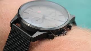 Sem Lewis Metropolitan Northwick Park men's chronograph watch black grey/black