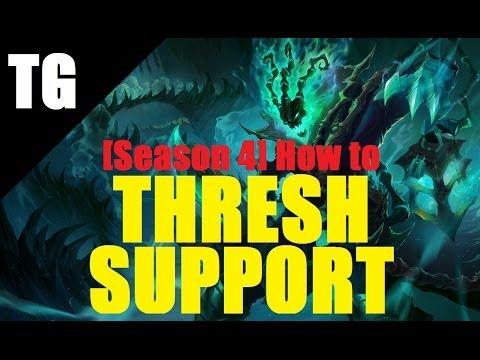 comment monter thresh