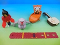 KUBO and THE TWO STRINGS SET OF 5 BURGER KING 2016 KIDS MEAL MOVIE TOYS VIDEO REVIEW
