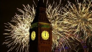 London Fireworks 2013 - New Year Live - BBC One