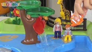 Jenny play 플레이 모빌 1 2 3 동물원 물놀이 장난감 세트 Playmobil Take Along Zoo and Aquarium