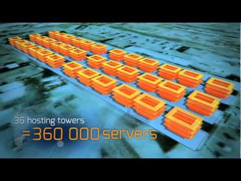 The world's largest data center