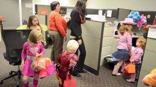 We had some Trick-or-Treaters in the office for Halloween. Watch them having some fun in the food merchandising department at ...