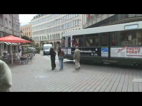 Augsburg - A walk through beautiful downtown Augsburg.