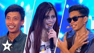 Video TOP 6 MOST VIEWED Auditions on Pilipinas Got Talent 2018 MP3, 3GP, MP4, WEBM, AVI, FLV Agustus 2018