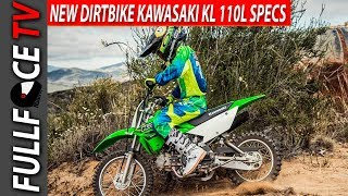 4. 2017 Kawasaki KLX110L Top Speed and Review