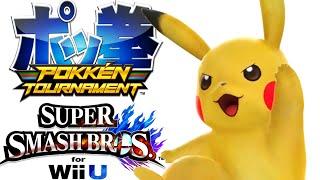 Pokken Tournament VS Smash 4 – Comparing Pikachu's Moveset