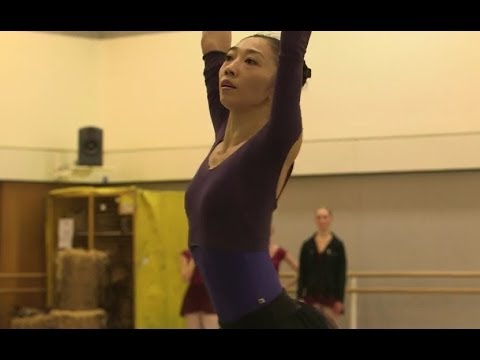 Hikaru Kobayashi on the role of Queen of the Wilis in Giselle (The Royal Ballet)