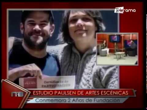 Estudios Paulsen de artes escénicas conmemora 2 años de fundación