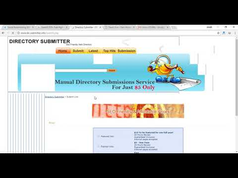 HOW TO BACKLINK ON dir-submitter.info BY SAVESFUN.COM