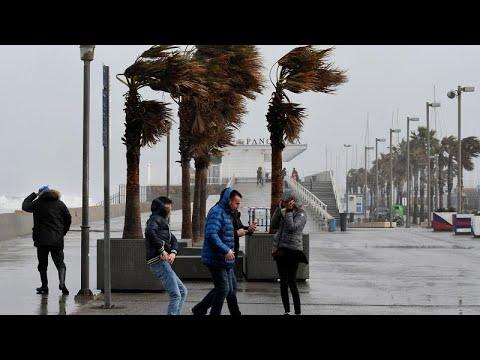 """Ισπανία: Σαρώνει στο περασμά της η """"Γκλόρια"""" – Τέσσερις νεκροί…"""