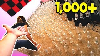 Video PRANKING FRIENDS WITH 1,000 WATER BOTTLES! MP3, 3GP, MP4, WEBM, AVI, FLV November 2018