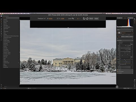 On1 Photo RAW 2019 - 4: Processing An Image