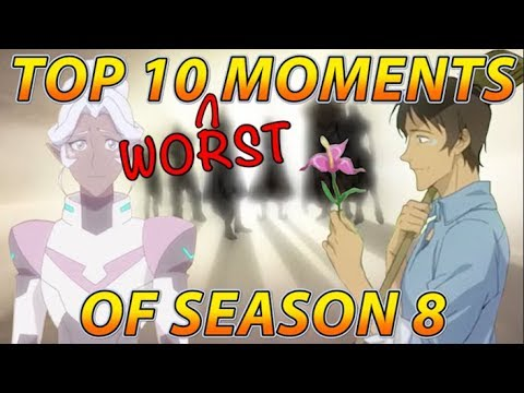 Top 10 WORST Moments of Voltron Season 8
