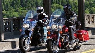 7. 2006 Harley-Davidson Road King vs Yamaha Royal Star - MotoUSA