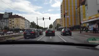 Hannover Germany  city images : Driving through Hannover Germany