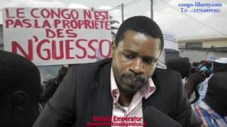 Interview de Donald Emperator sur la perpetuation du combat contre Sassou