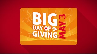 Reminder: Big Day of Giving!
