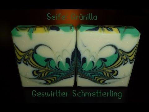 Tutorial Seifen-Swirl (Seife: Grünilla)