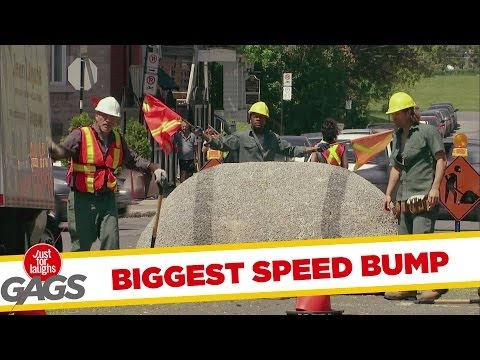 World\'s Biggest Speed Bump - Youtube