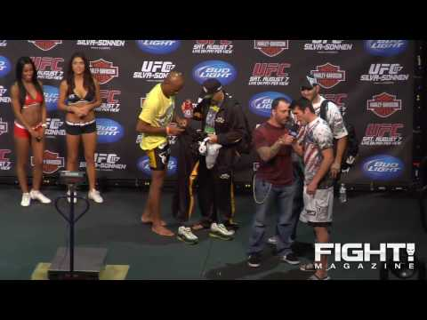 UFC 117 Weighin Highlights