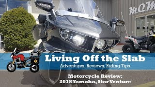 5. Motorcycle Review: 2018 Yamaha, Star Venture