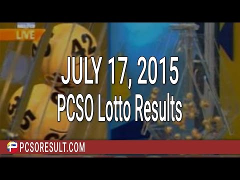 PCSO Lotto Results July 17, 2015 (6/58, 6/45, 4D, Swertres & EZ2)