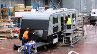 Retreat Caravans Time-lapse