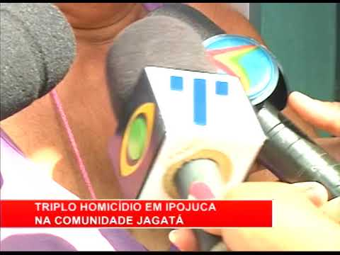 [RONDA GERAL] Triplo homicídio na comunidade Jagatá, em Ipojuca