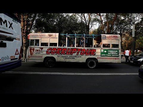 Μεξικό: To λεωφορείο της διαπλοκής!