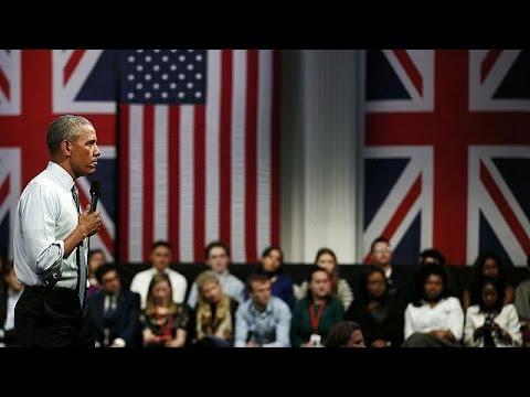 Βρετανία: Να απορρίψουν την ξενοφοβία ζήτησε από τους νέους ο Μπαράκ Ομπάμα