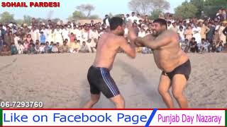 OPEN KABADDI FIGHT AT HOME GROUND OF JAWED JATTO 2018 MUST WATCHED