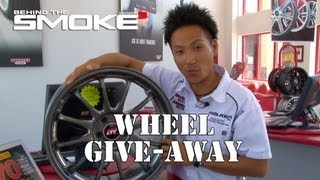 Wheel Give-Away&America's Tire Store Visit - Behind The Smoke 3 - Ep19