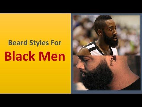 Best Hottest Beard Styles For Black Men - 2018 Trendiest Black Men Beard Styles