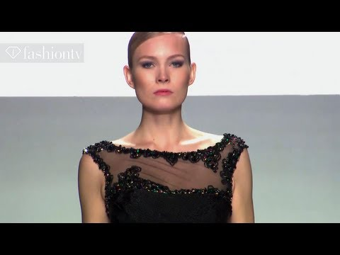 Tony Ward's collection AltaRomaAltaModa Fashion Week
