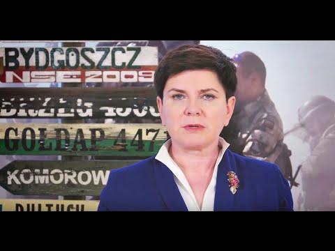 Beata Szydło z okazji Dnia Weterana Działań poza Granicami Państwa