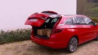 Opel Astra Sports Tourer'ın Porto lansmanından izlenimler ve araç incelemesi...
