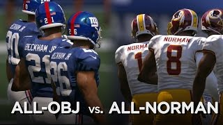 What if a team of OBJs played a team of Josh Normans? by SB Nation