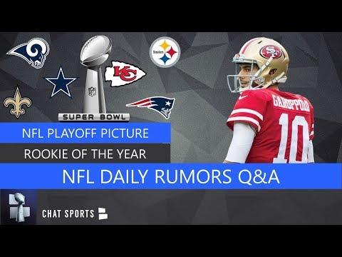 Tom Brady Future, Jimmy Garoppolo vs Dak Prescott, Rookie Of The Year Contenders, NFL Playoffs | Q&A