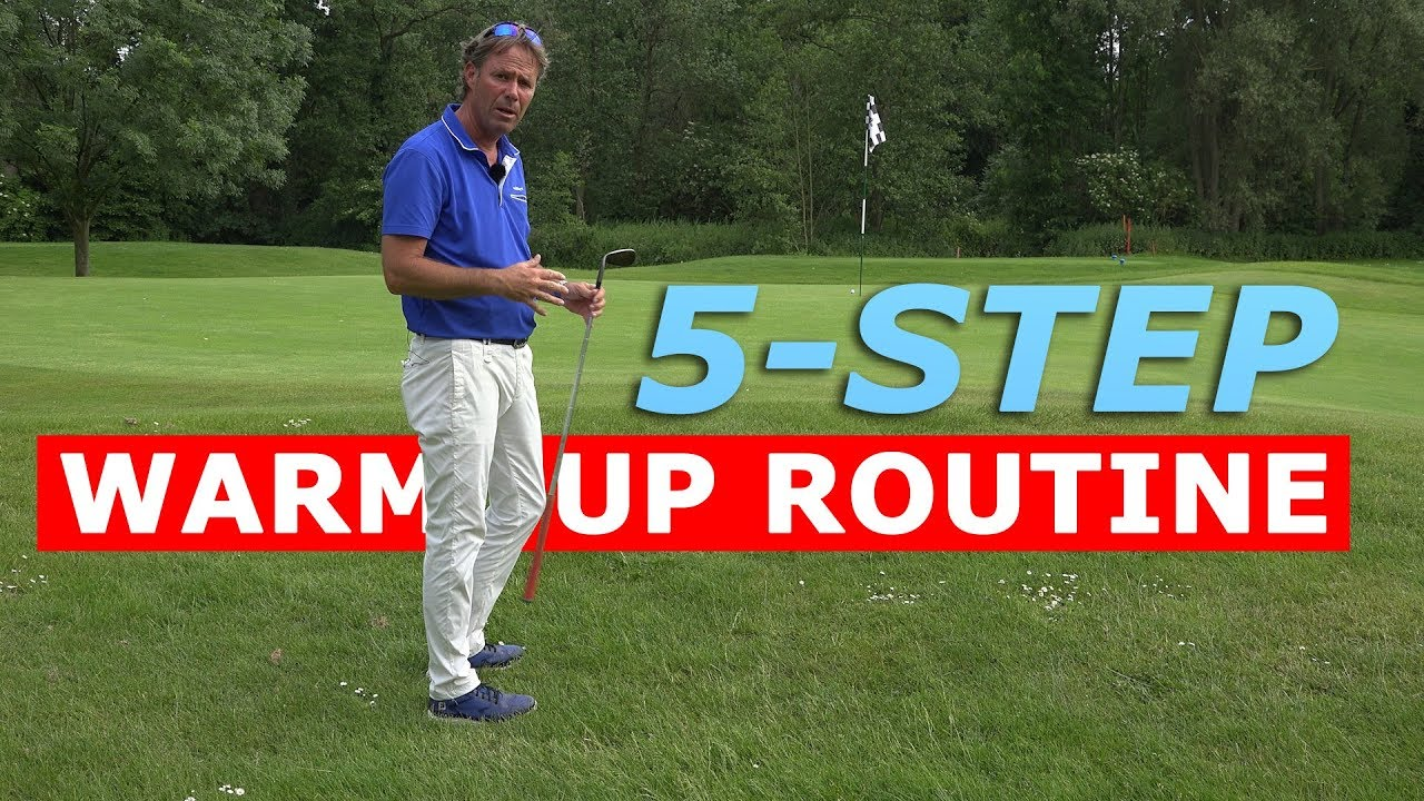 5-STEP WARM-UP ROUTINE - the BEST GOLF preparation