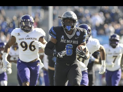 Memphis Tigers defeat East Carolina Pirates 70-13