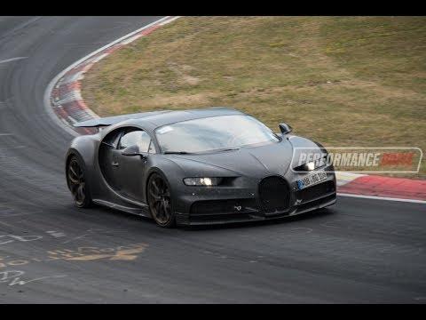 Bugatti Chiron spotted at Nurburgring