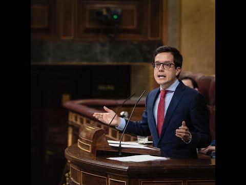 Intervención de Tomás Cabezón en el Pleno del Congreso de los Diputados