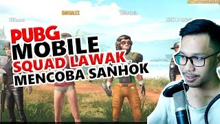 Video TIM LAWAK MENCOBA SANHOK - PUBG MOBILE INDONESIA MP3, 3GP, MP4, WEBM, AVI, FLV Februari 2019