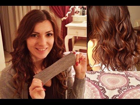 capelli mossi senza piastra!